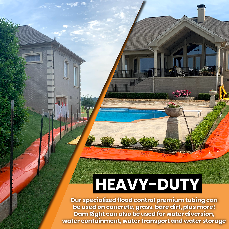 heavy-duty flood protection