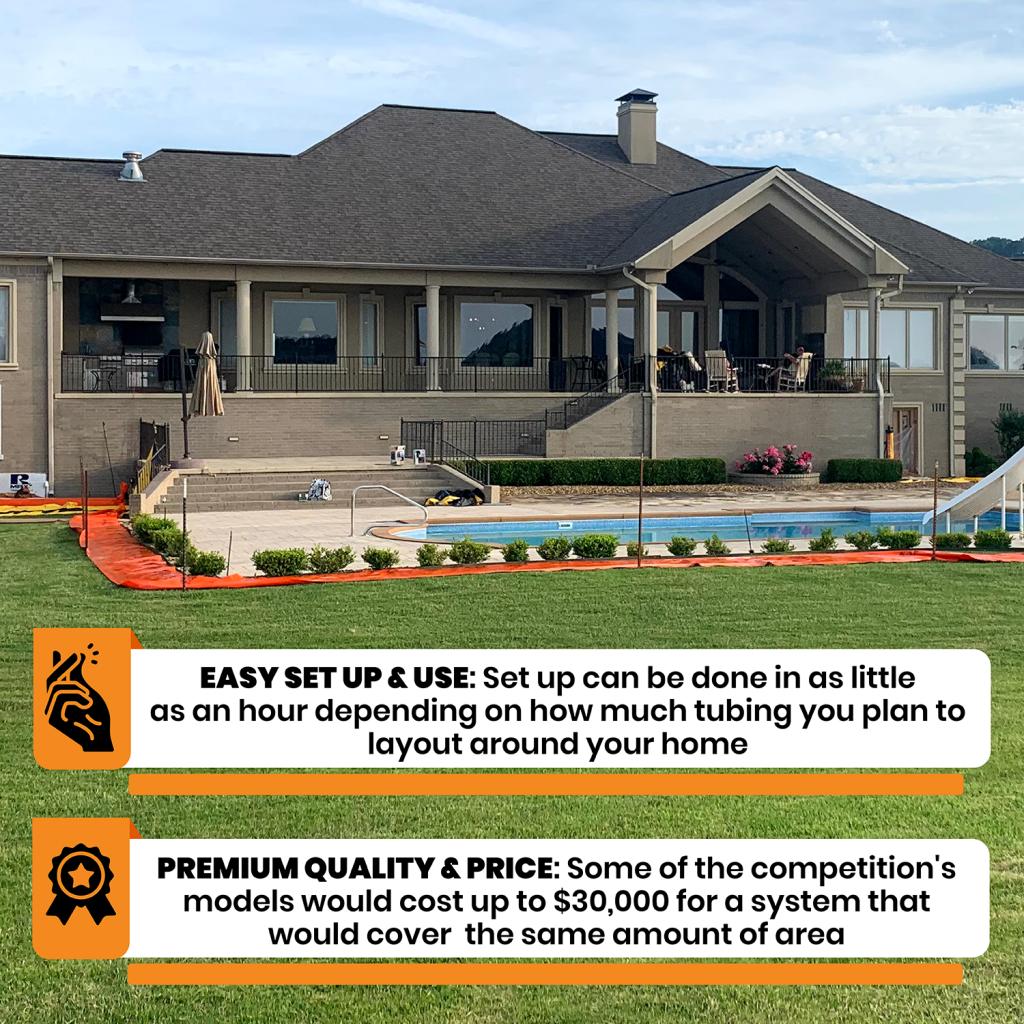 Easy set up with premium quality & price